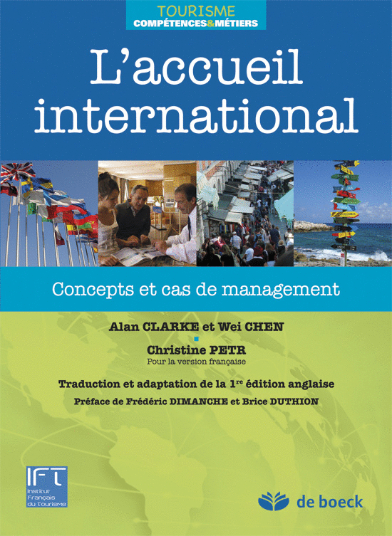 L'accueil international, Concepts et cas de management
