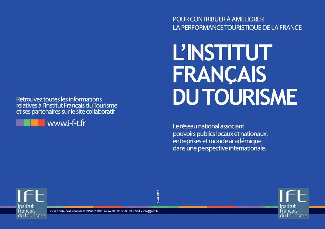 brochure institut français du tourisme